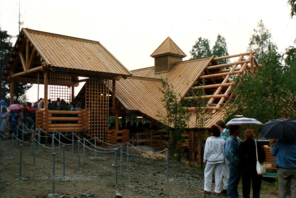 Tømmerstupet Tusenfryd Kat & Vic Design