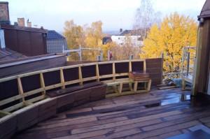 Takterrasse, Oslo